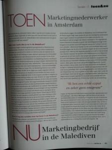 Vertrek NL article Sanne Wesselman page 2