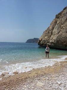 Reached the hidden beach