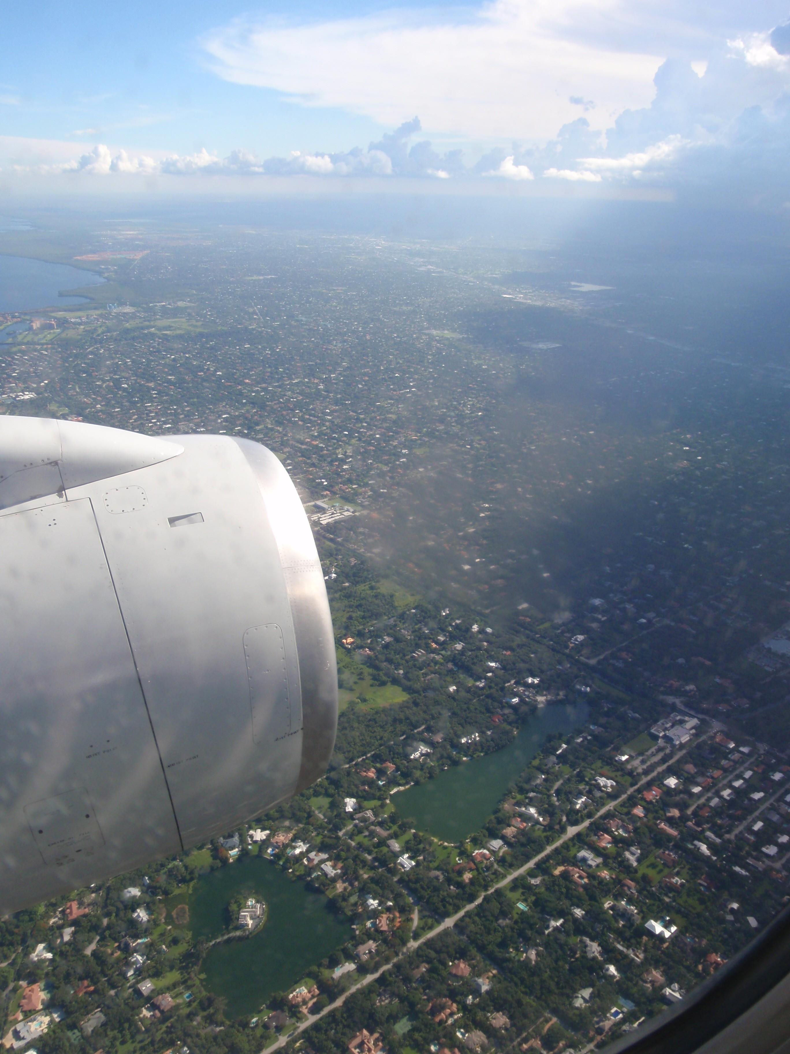 Flight Miami view