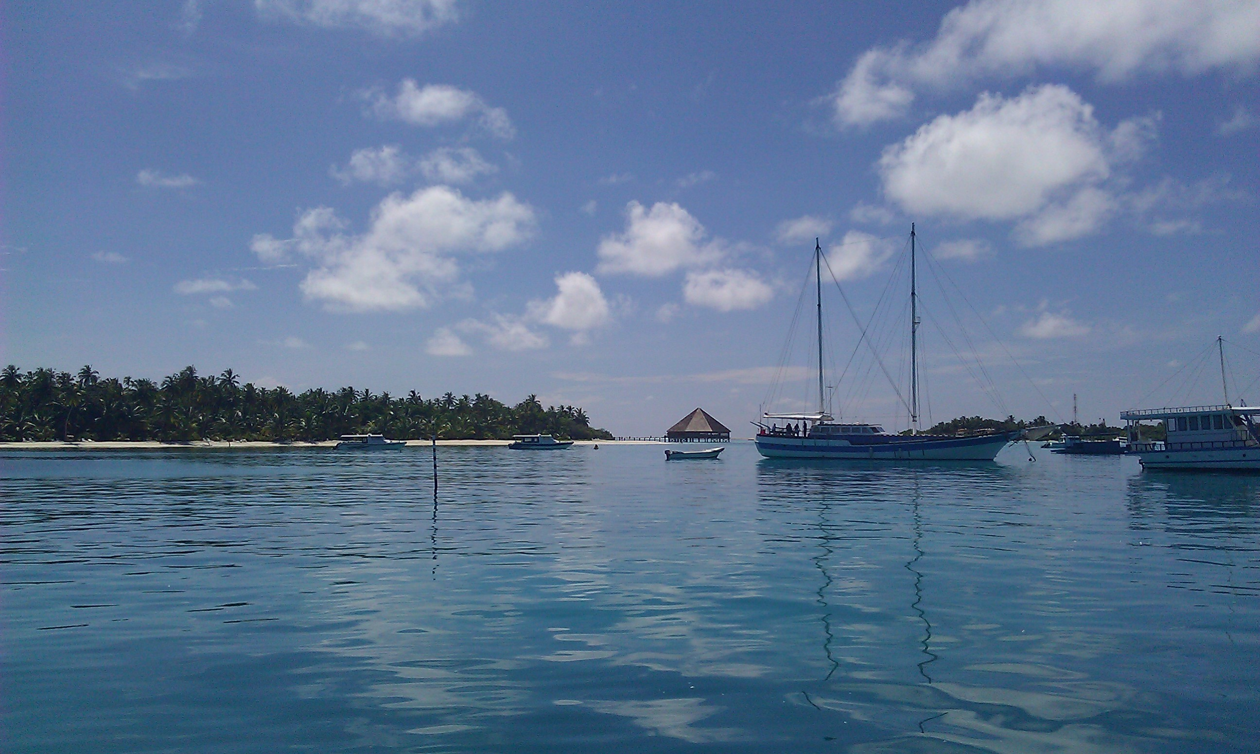 Maldives by boat