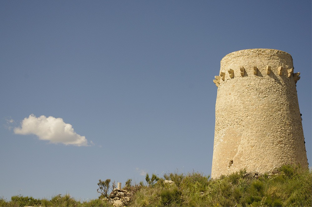 the watchtower on Cap d'Or