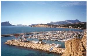 Port of Moraira, Costa Blanca, Spain