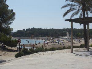 Moraira's main beach