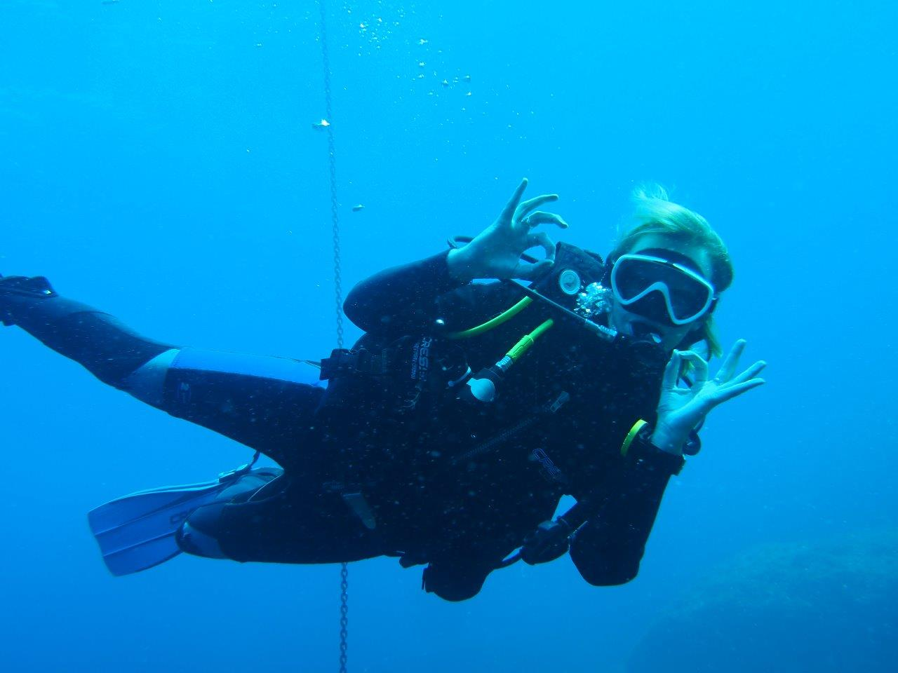 scuba diving in Soller, Mallorca
