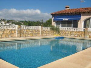 Villa with pool in Moraira, Costa Blanca