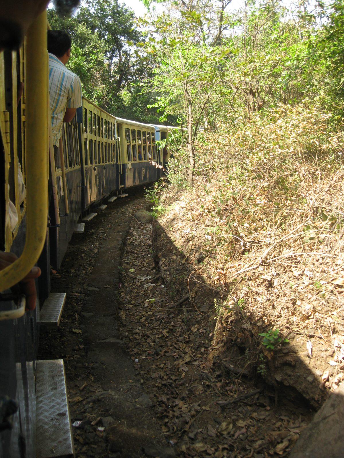 train in India