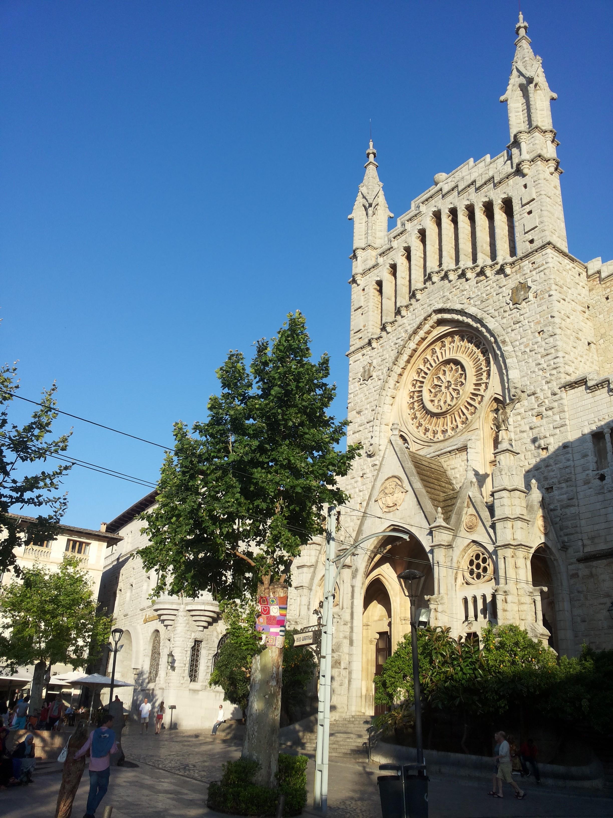 Church in Soller, Mallorca