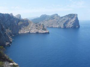 Mallorca's rugged coastline