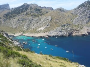 Small bay on Mallorca's north-west coast