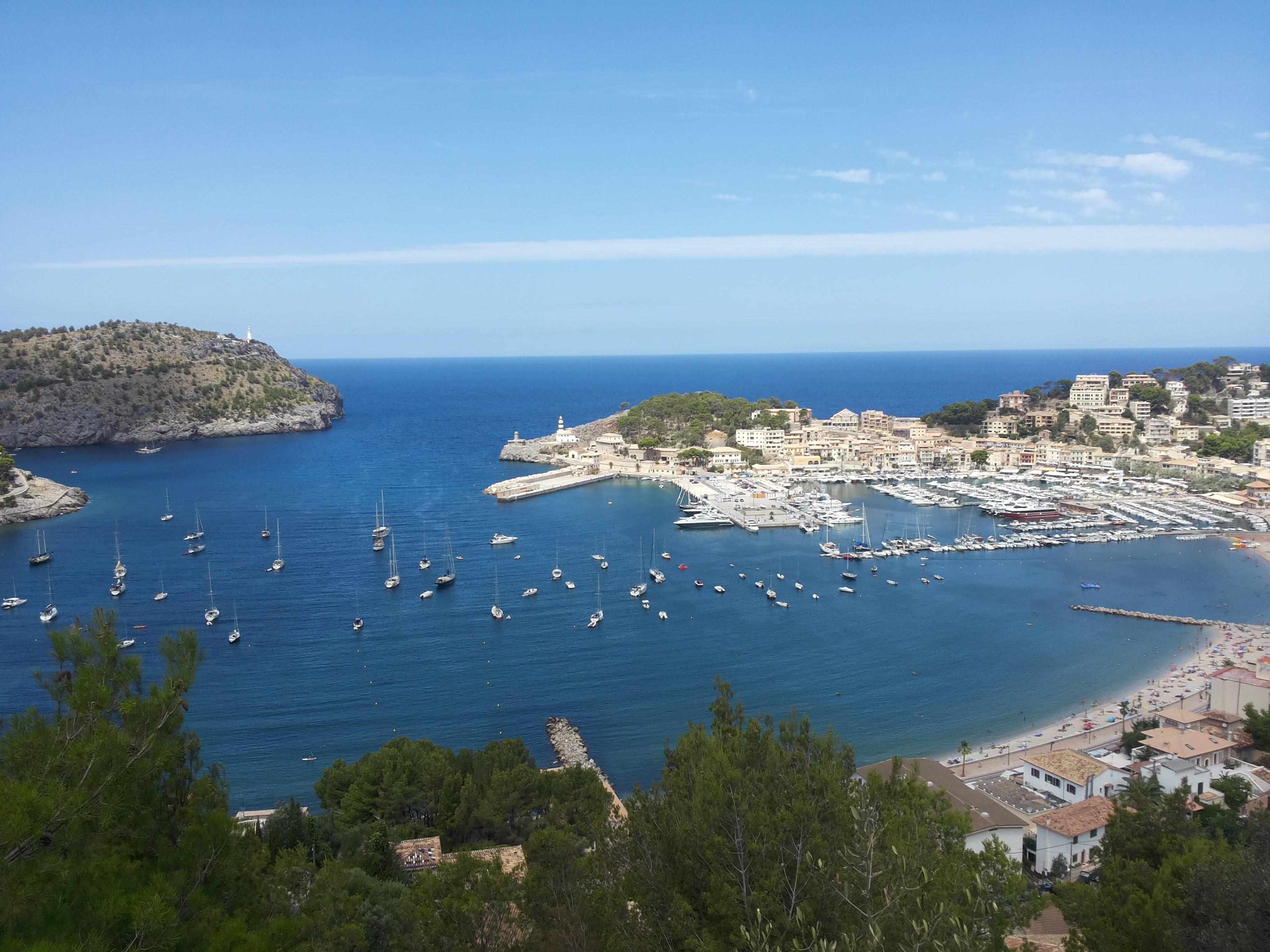 Soller and Port de Soller, Mallorca, Spain