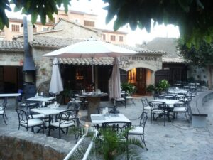 Restaurant in Valldemosa, Mallorca