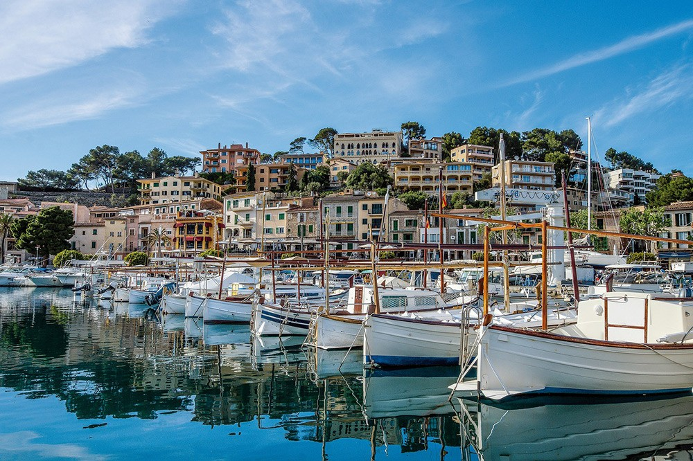 Soller, one of the towns worth visiting in Mallorca