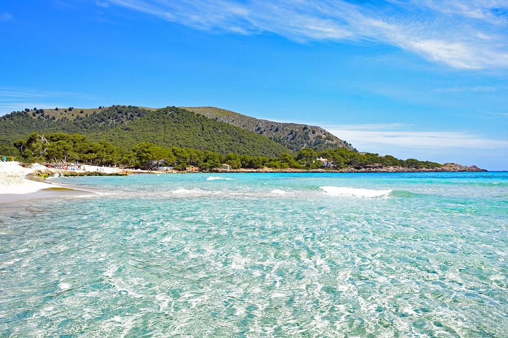 One of Mallorca's many beaches
