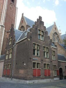 Part of the Grote Kerk, The Hague