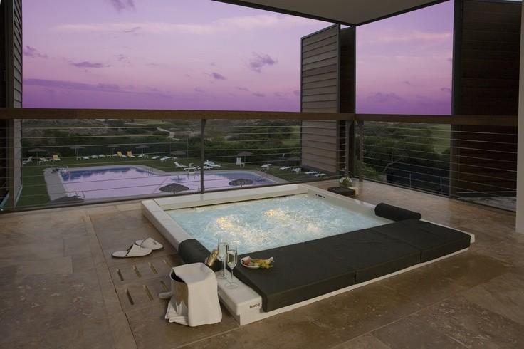 luxury hotel room in a Parador hotel