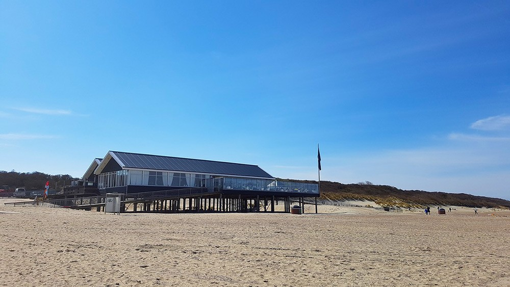 The beach in Renesse, Zeeland
