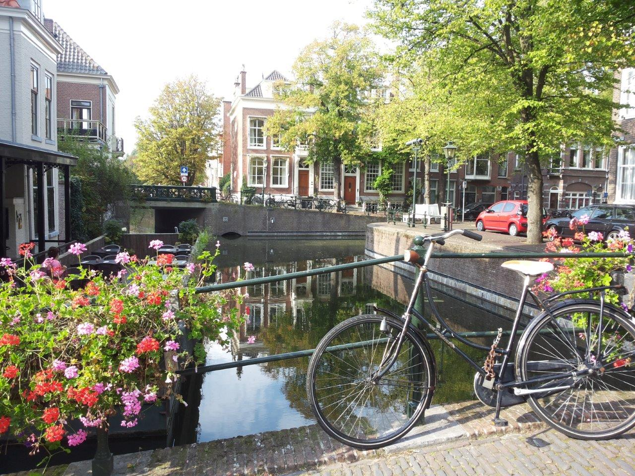 Canal in The Hague - Is The Hague worth visiting?