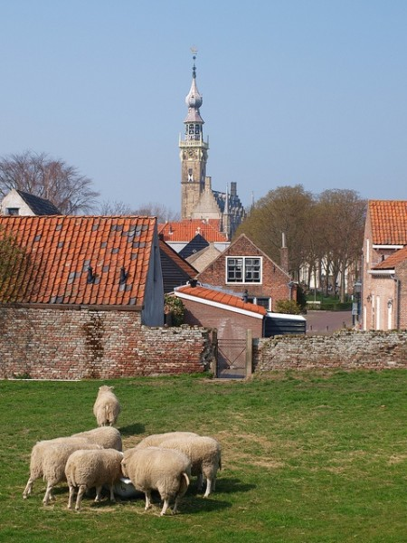 Veere in Zeeland, The Netherlands