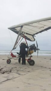 flying an ultralight in Baja California, Mexico