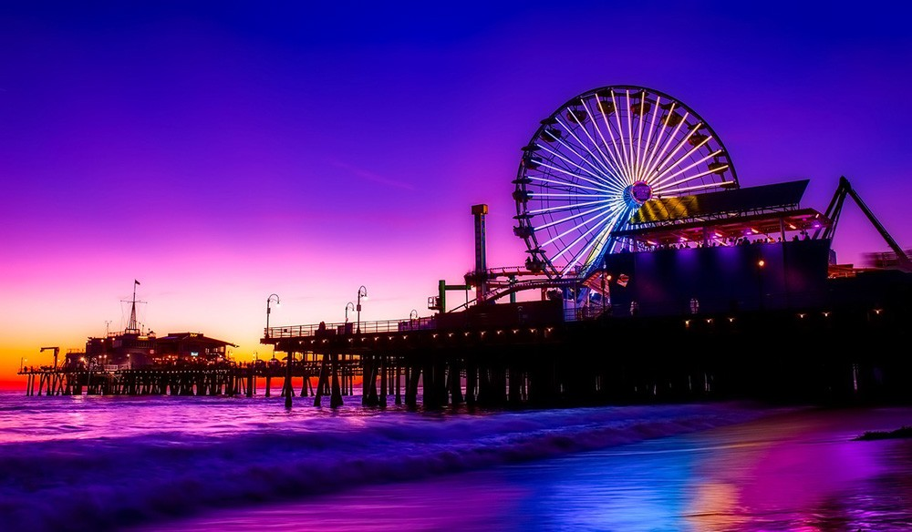 what to do in LA for a weekend: Santa Monica Pier