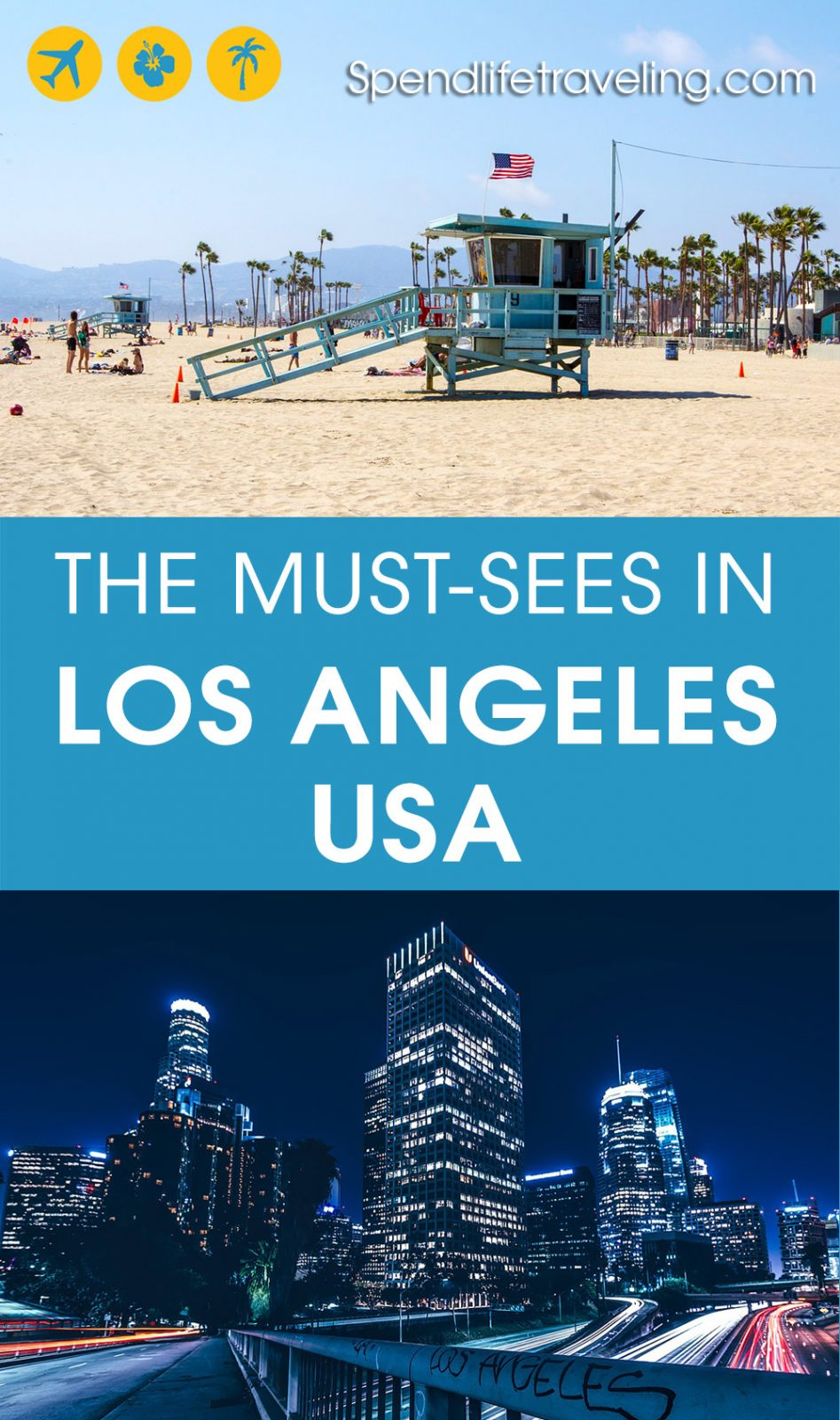 Are you planning a short trip to #LA? Check out what not to miss in this popular Californian city. #LosAngeles #California #USA #TravelUSA