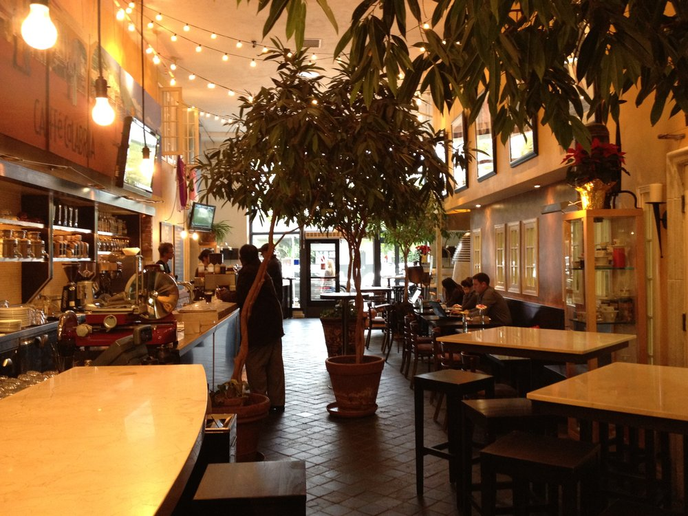 Best San Diego cafe to work or study: Caffe Calabria