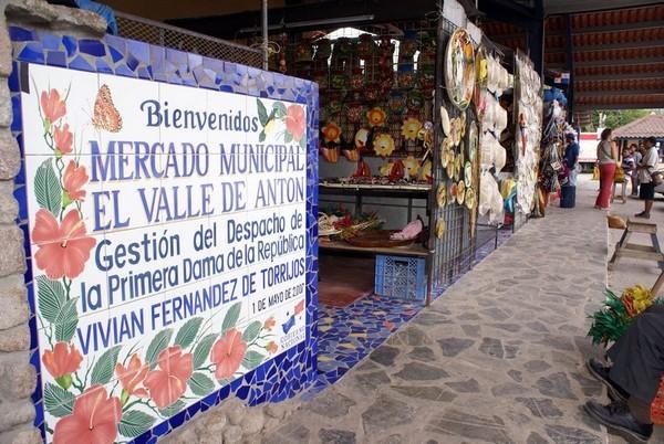 handicraft market, El Valle de Anton, Panama
