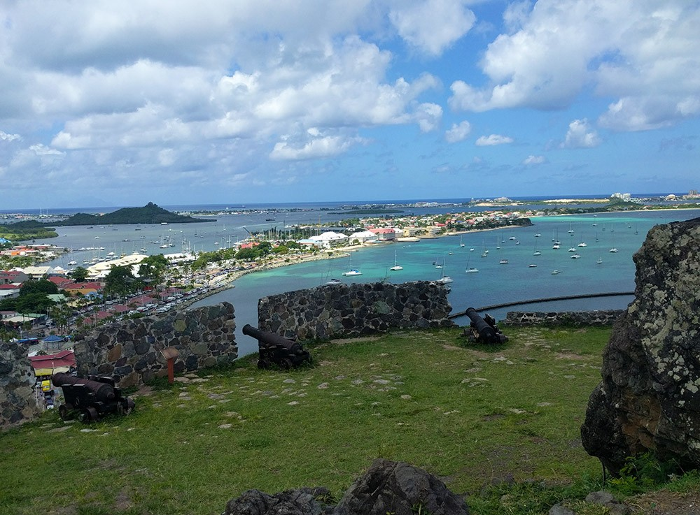 things to do in St. Martin: Fort Louis