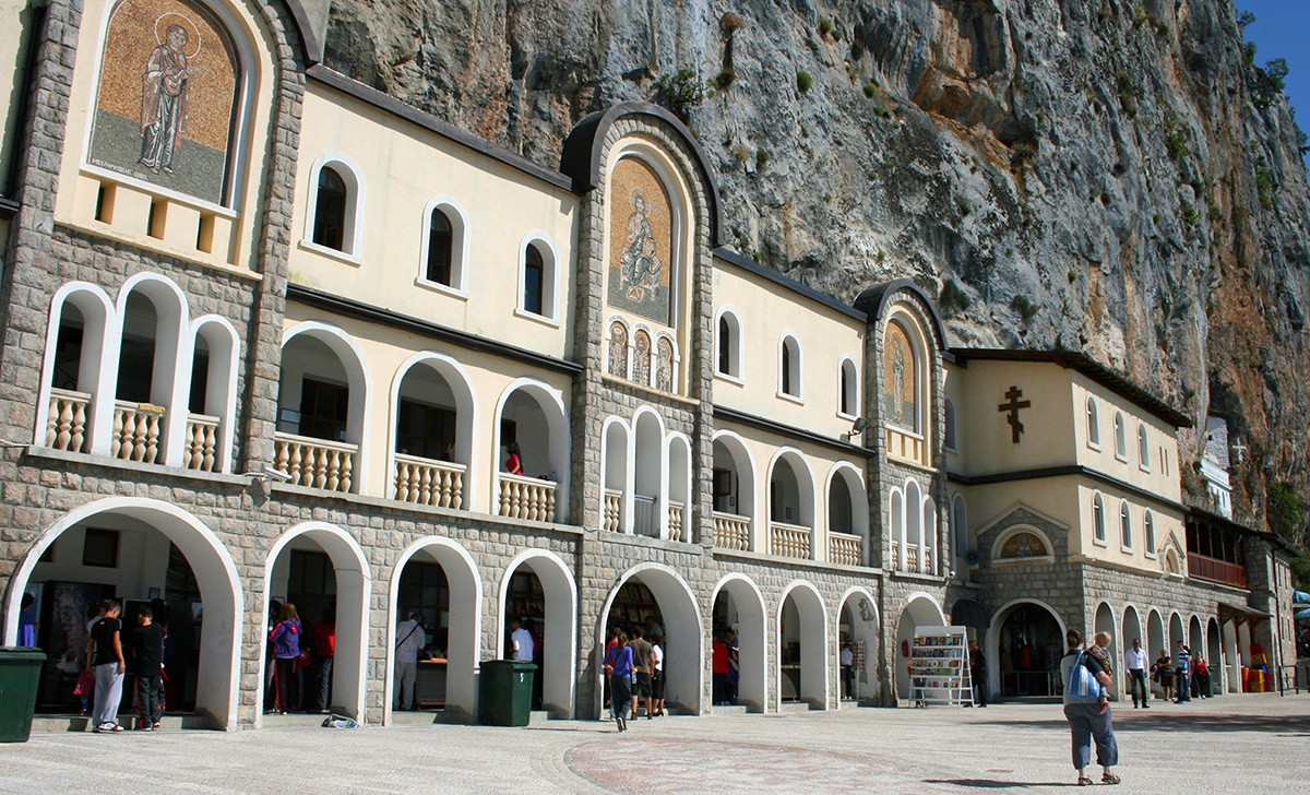 Where to go in Montenegro: Ostrog Monastery