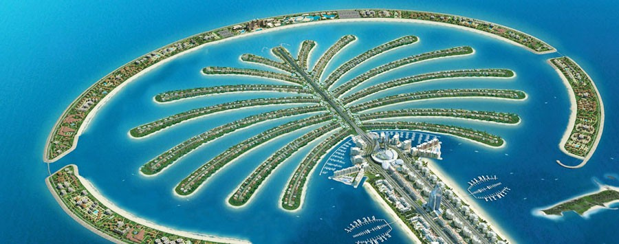 Facts about Dubai: Dubai palm islands