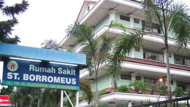 hospital in Bandung, where I went to with dengue fever in Indonesia