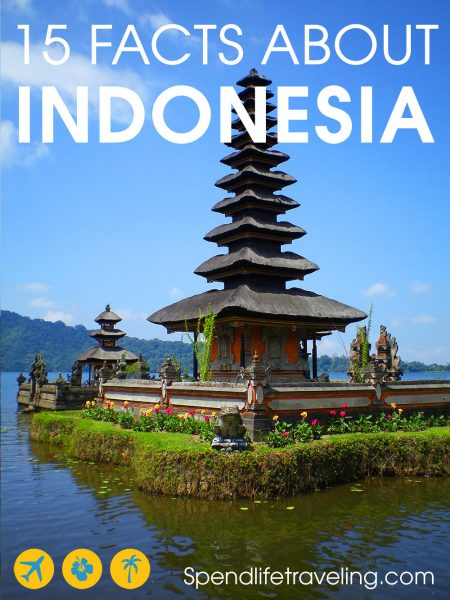Are you thinking about traveling to Indonesia? These are 15 facts about Indonesia you should know before you go. #traveltips #indonesia