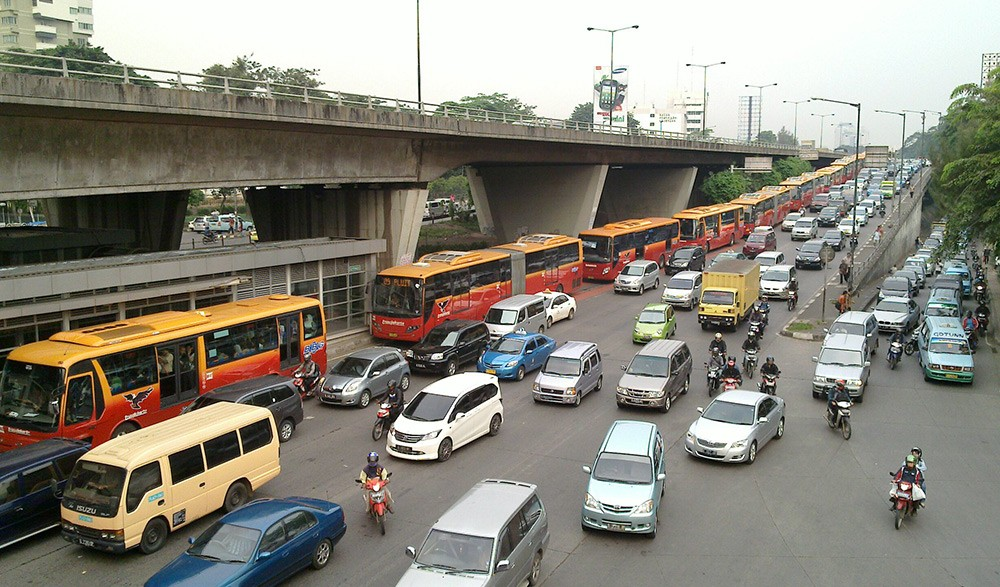 facts about Indonesia's traffic