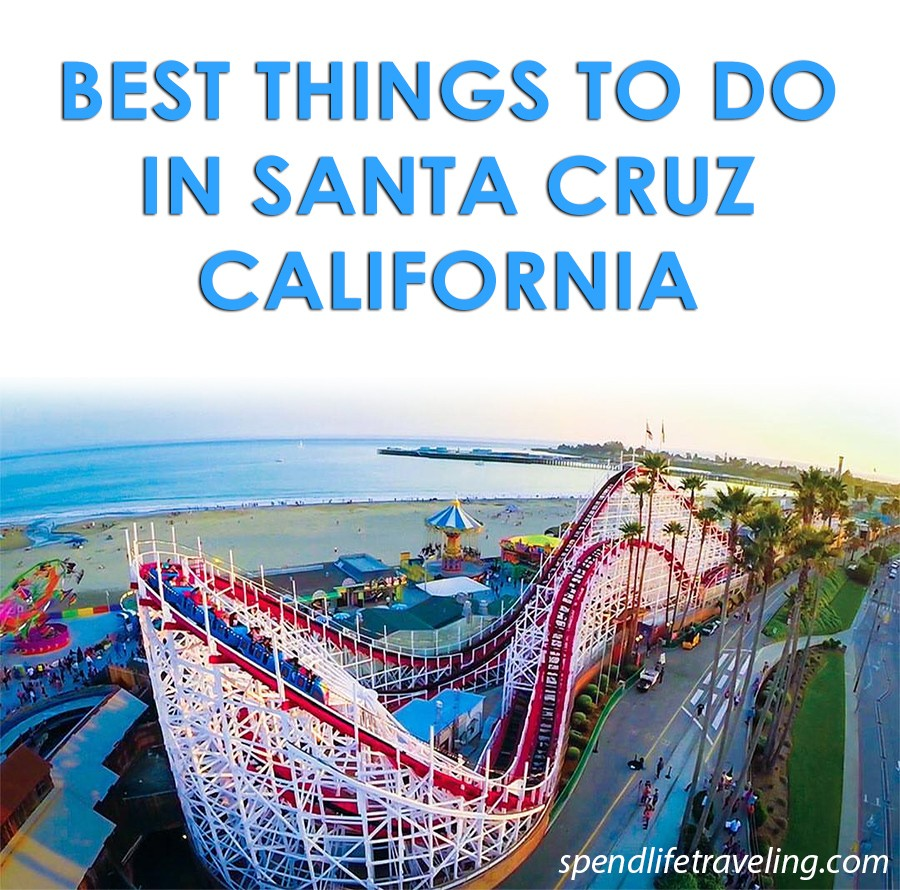 Check out what not to miss when visiting Santa Cruz, California. #SantaCruz #travelCalifornia #travelguide #traveltip