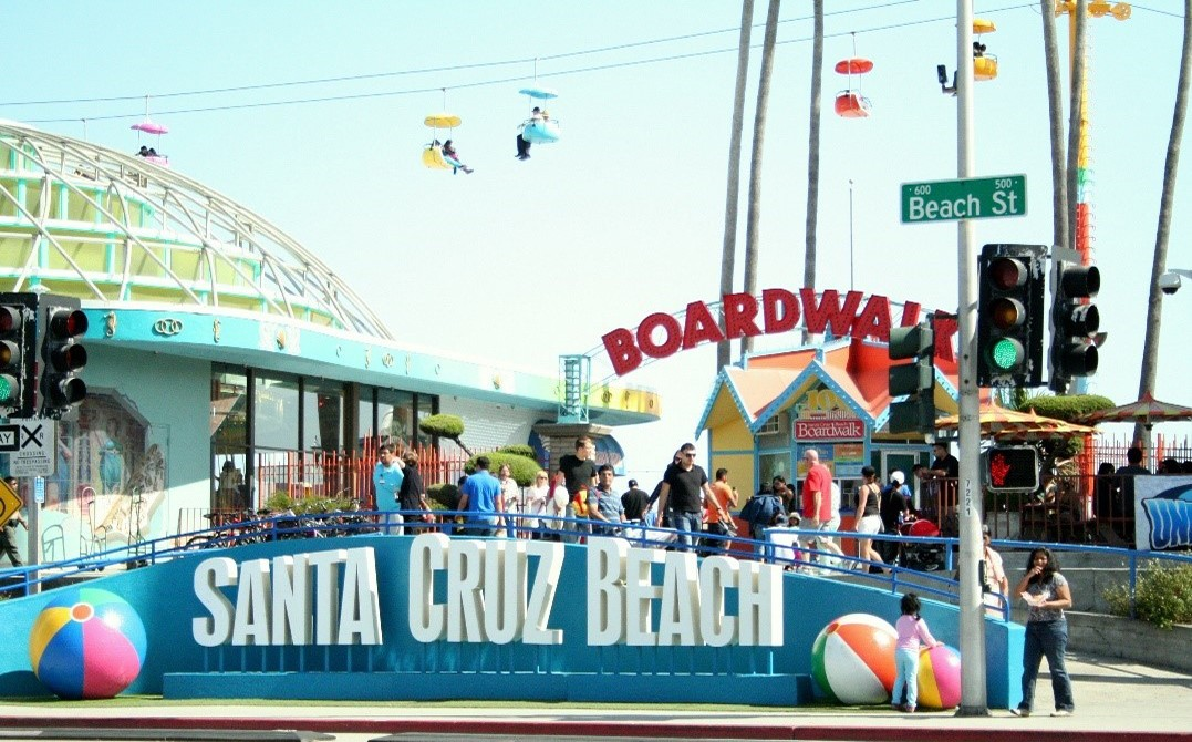 Santa Cruz Beach Boardwalk and Amusement Park