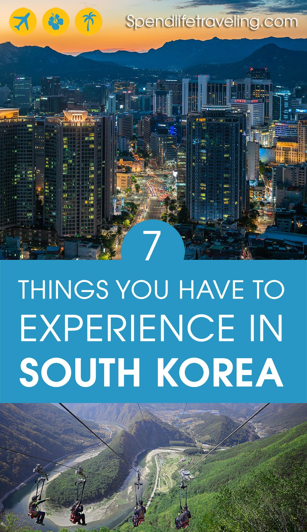 A list of the best things to do in South Korea, in different parts of the country. #SouthKorea #Korea