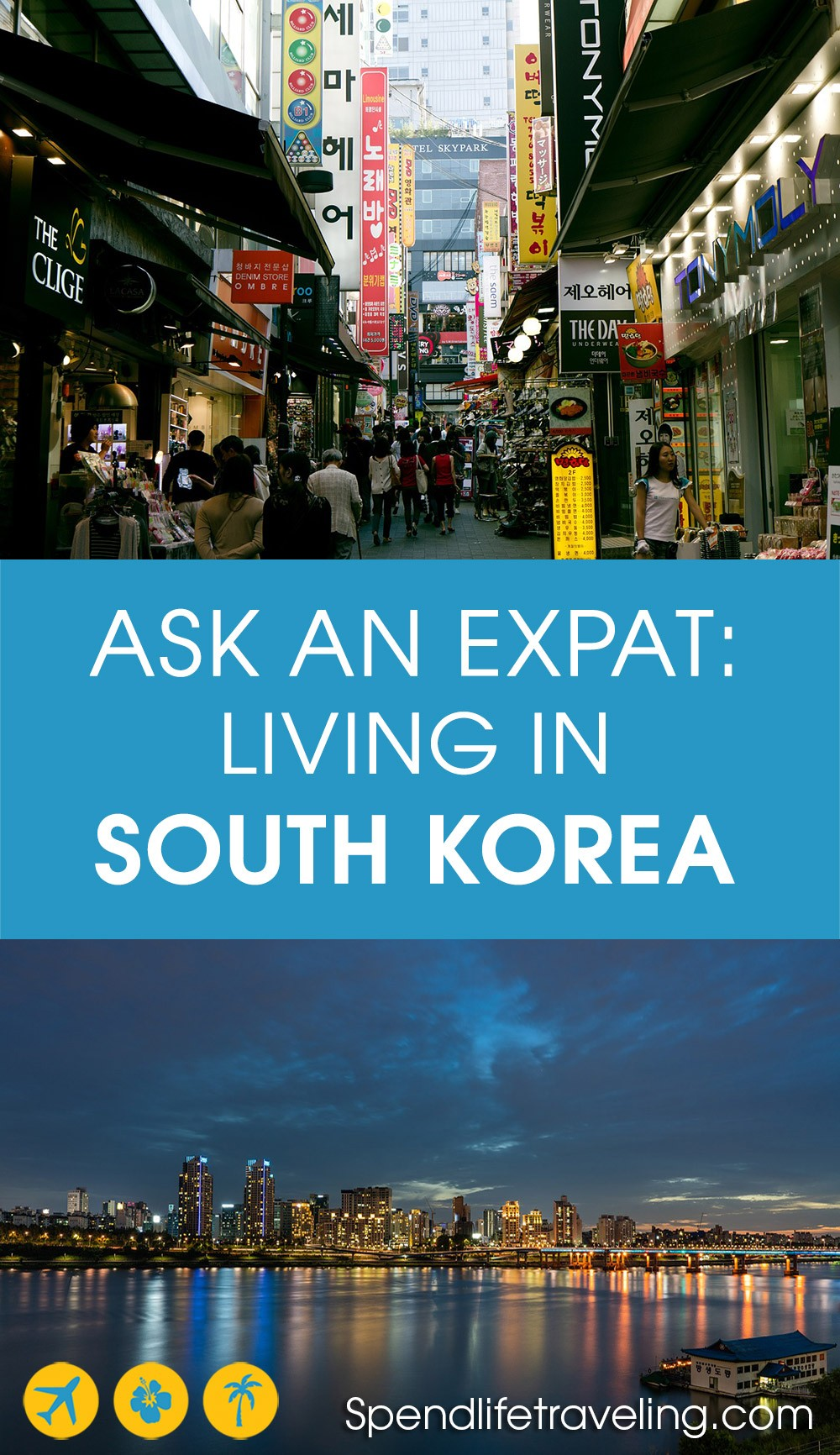 Interview with an expat about what it's like to move to and live in South Korea. #expat #southkorea #moveabroad
