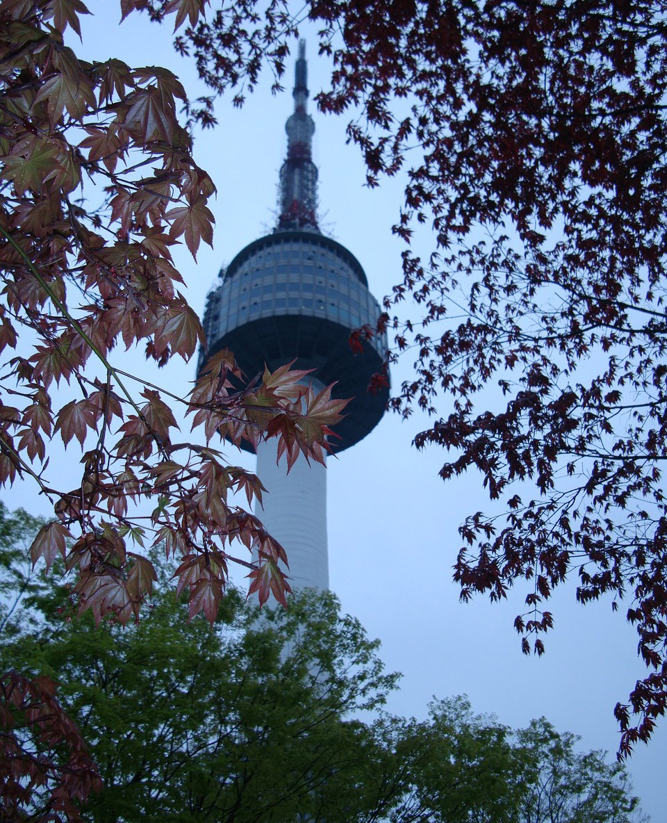 top things to do in South Korea: go up the Seoul tower