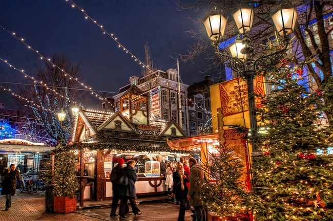 Amsterdam events: christmas market