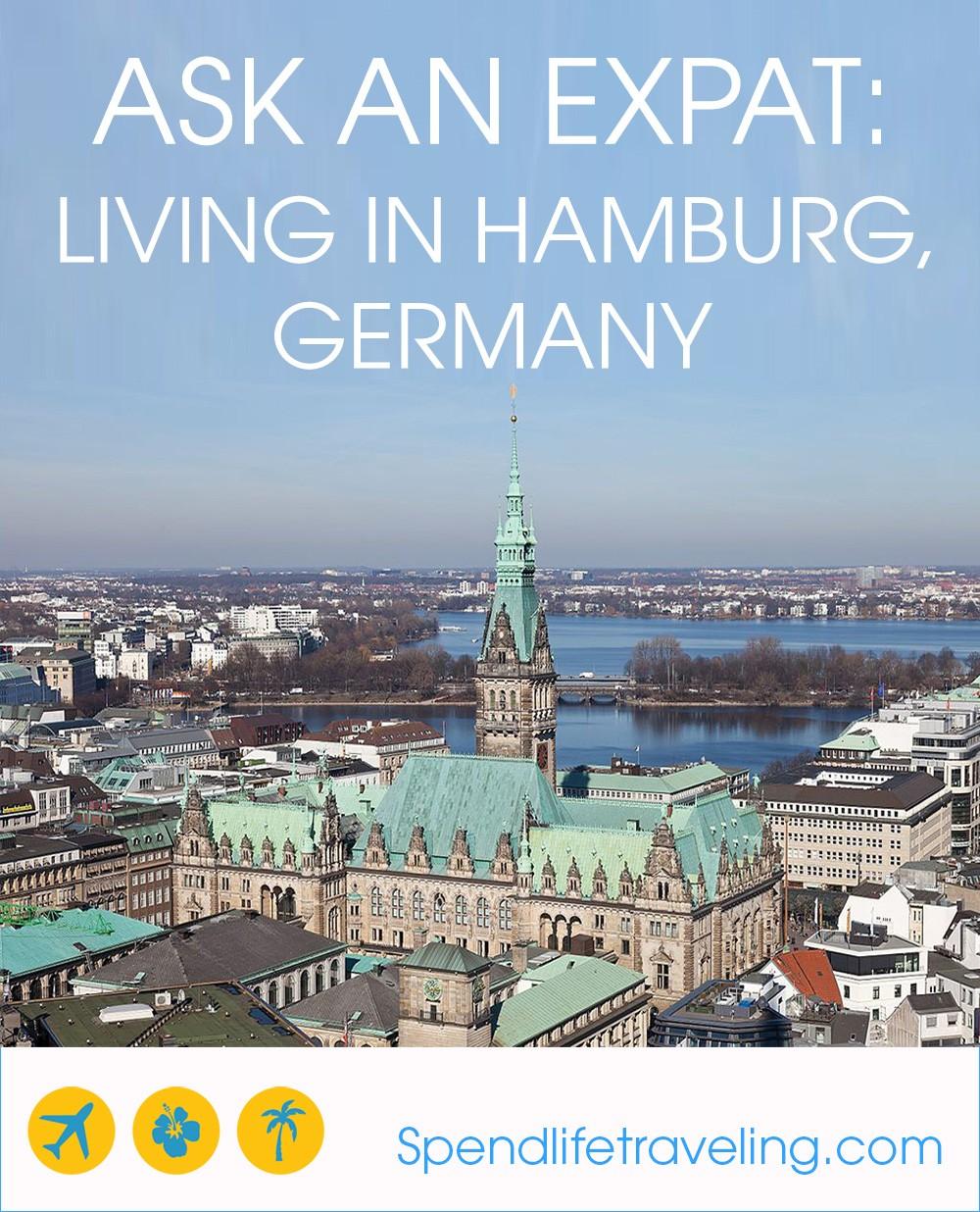 expat life in Hamburg, Germany