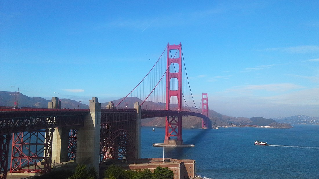 San Francisco Must See Places: Golden Gate Bridge