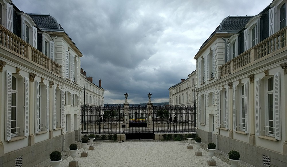 TEpernay, the Champagne region in France