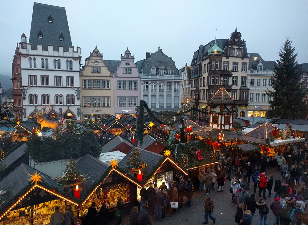 Trier, Germany Christmas market