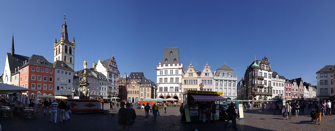 What to see and do in Trier: Hauptmarkt in Trier, Germany