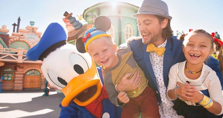 visit Disneyland in Anaheim