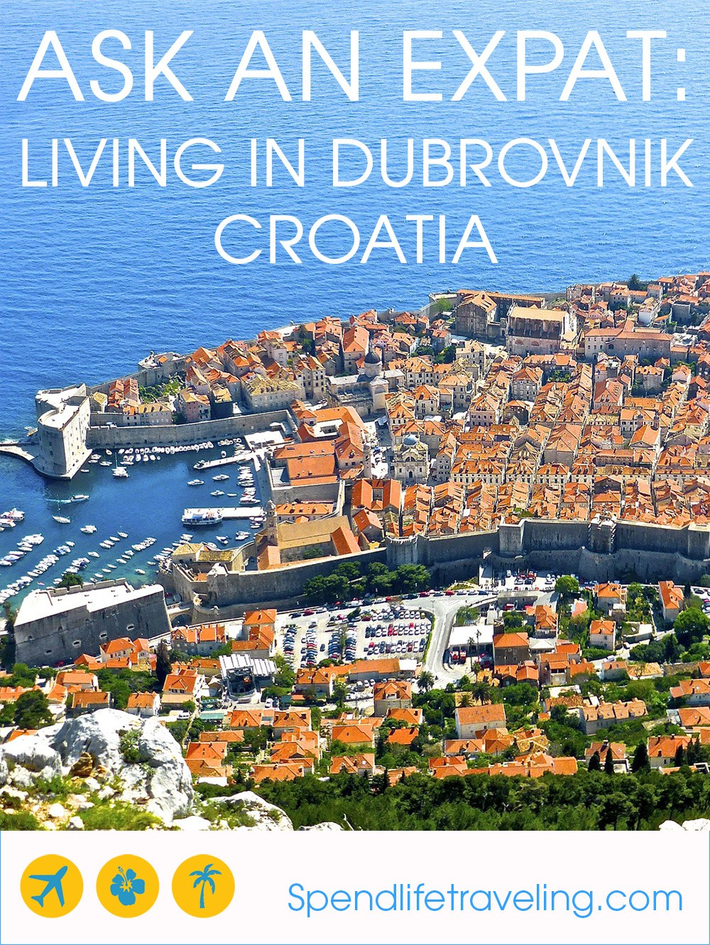 Living in Dubrovnik, Croatia. An inspiring interview with an expat about moving to and living in #Dubrovnik. #expat #moveabroad #lifeabroad