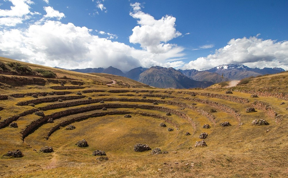 visit Incan ruins in Peru - Moray