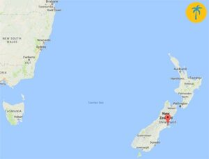 Christchurch map - interview about expat life