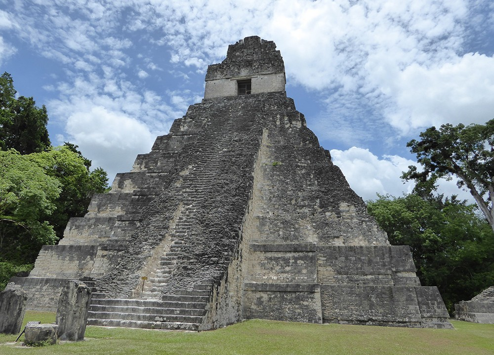most beautiful places in Guatemala: Tikal, Guatemala