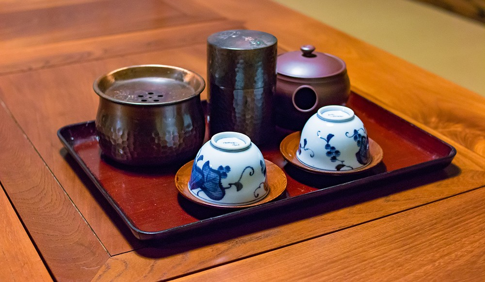 traveling Japan for food lovers: Japanese tea